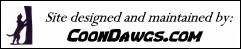 Site designed and maintained by CoonDawgs.com